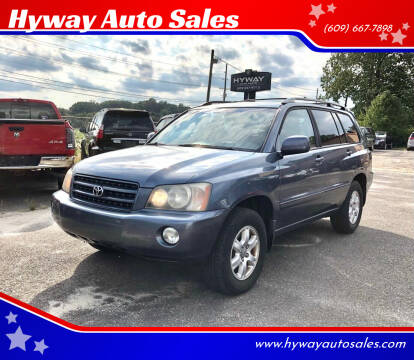 2003 Toyota Highlander for sale at Hyway Auto Sales in Lumberton NJ