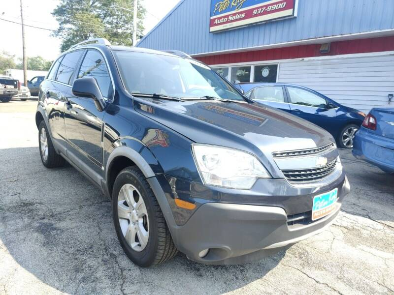 2014 Chevrolet Captiva Sport for sale at Peter Kay Auto Sales in Alden NY