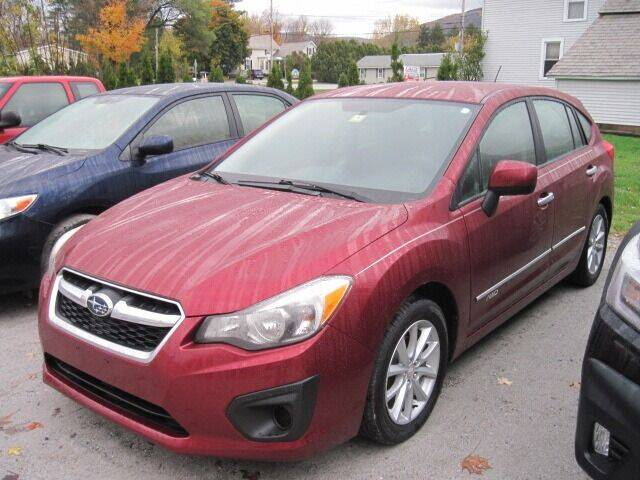 2012 Subaru Impreza for sale at BYRNES RUST PROOFING CENTER AND AUTO SALES in North Clarendon VT