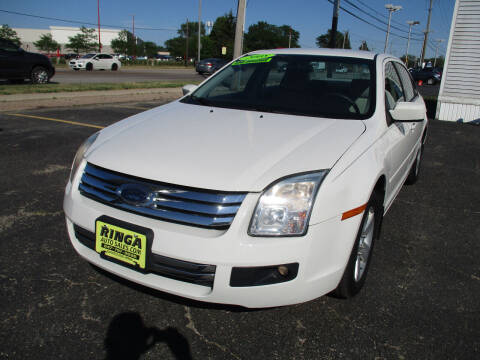 2008 Ford Fusion for sale at Ringa Auto Sales in Arlington Heights IL