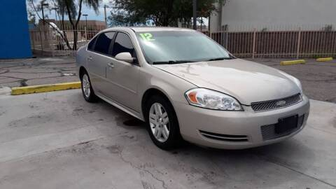 2012 Chevrolet Impala for sale at CAMEL MOTORS in Tucson AZ