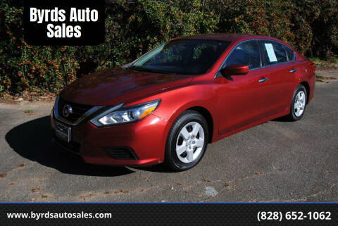 2016 Nissan Altima for sale at Byrds Auto Sales in Marion NC