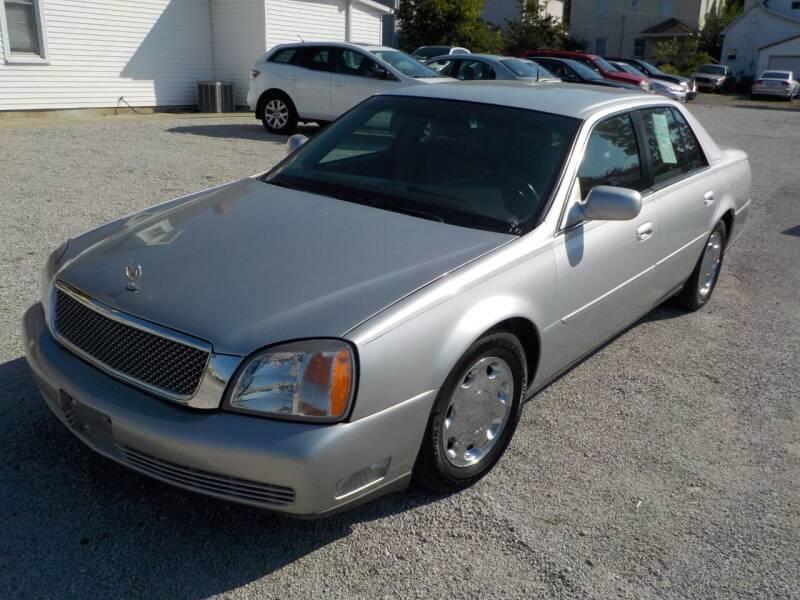 2000 Cadillac DeVille for sale at SEBASTIAN AUTO SALES INC. in Terre Haute IN