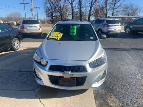 2014 Chevrolet Sonic for sale at GENE AND TONYS DEMOTTE AUTO SALES in Demotte IN