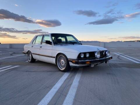 1988 BMW 5 Series for sale at Classic Car Deals in Cadillac MI