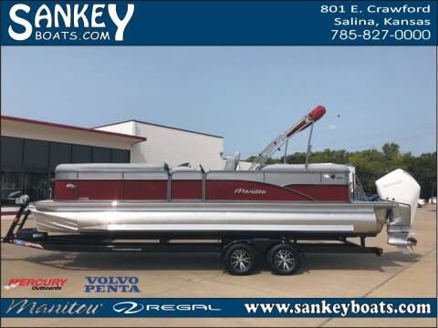 2021 Manitou 25 Oasis RF SHP for sale at SankeyBoats.com in Salina KS