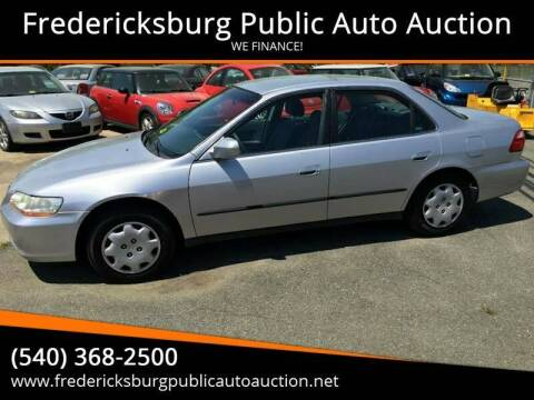 1999 Honda Accord for sale at FPAA in Fredericksburg VA