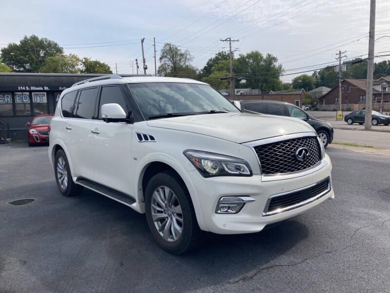 2017 Infiniti QX80 for sale at Savannah Motors in Belleville IL