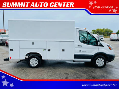2017 Ford Transit Cutaway for sale at SUMMIT AUTO CENTER in Summit IL