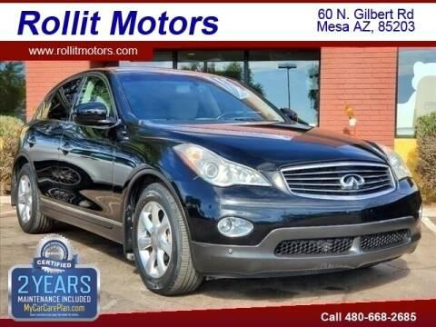 2008 Infiniti EX35 for sale at Rollit Motors in Mesa AZ