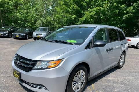 2014 Honda Odyssey for sale at Bladecki Auto LLC in Belmont NH