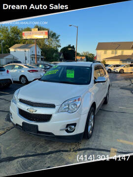 2015 Chevrolet Equinox for sale at Dream Auto Sales in South Milwaukee WI