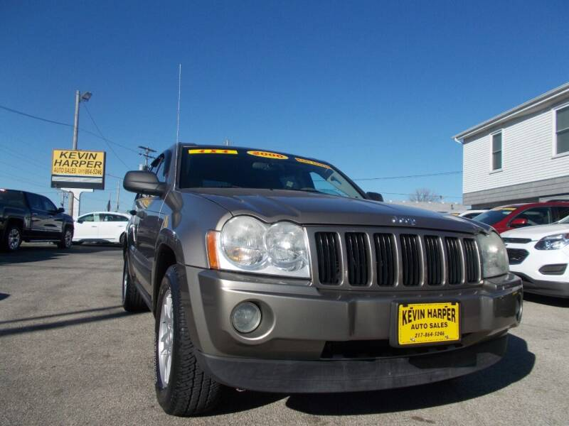 2006 Jeep Grand Cherokee for sale at Kevin Harper Auto Sales in Mount Zion IL