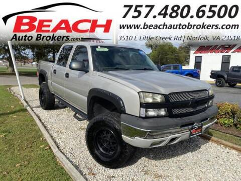 2004 Chevrolet Silverado 1500 for sale at Beach Auto Brokers in Norfolk VA