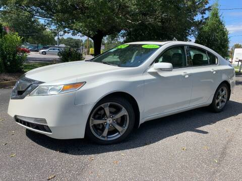2010 Acura TL for sale at Seaport Auto Sales in Wilmington NC