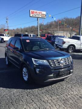 2016 Ford Explorer for sale at MARLAR AUTO MART SOUTH in Oneida TN