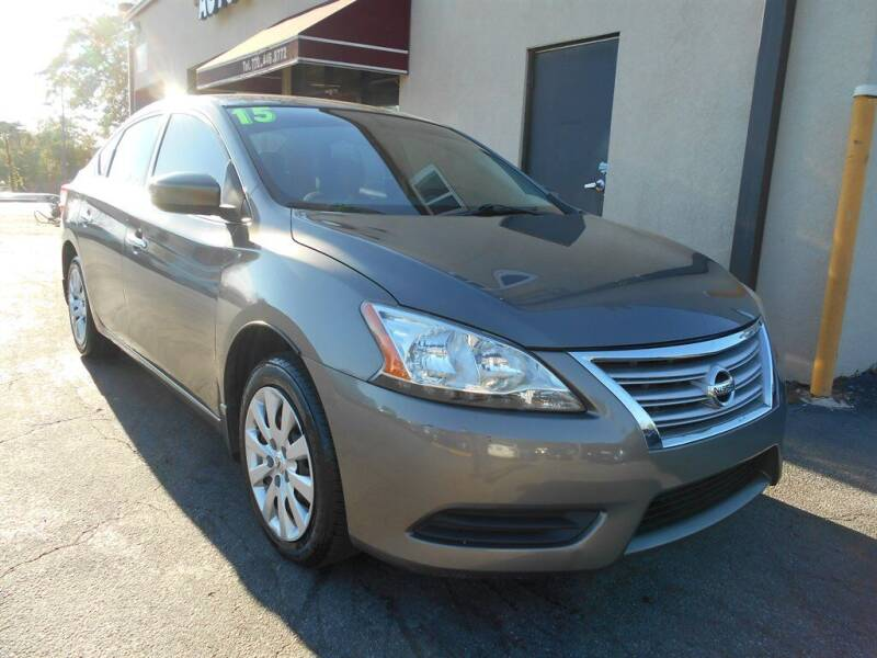2015 Nissan Sentra for sale at AutoStar Norcross in Norcross GA