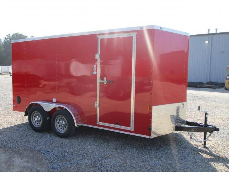 2021 Continental Cargo Sunshine 7x14 Vnose for sale at Vehicle Network - Barnes Equipment in Sims NC