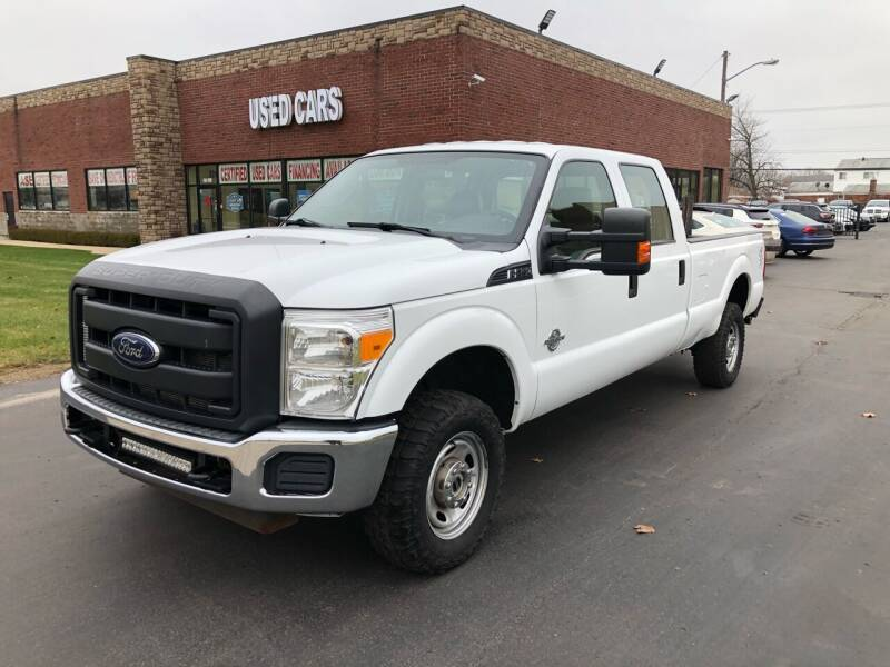2012 Ford F-250 Super Duty for sale at My Town Auto Sales in Madison Heights MI