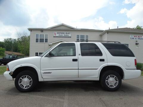 1998 GMC Jimmy for sale at SOUTHERN SELECT AUTO SALES in Medina OH