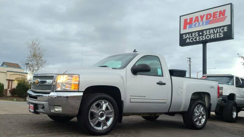 2013 Chevrolet Silverado 1500 for sale at Hayden Cars in Coeur D Alene ID