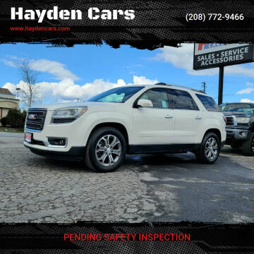 2014 GMC Acadia for sale at Hayden Cars in Coeur D Alene ID