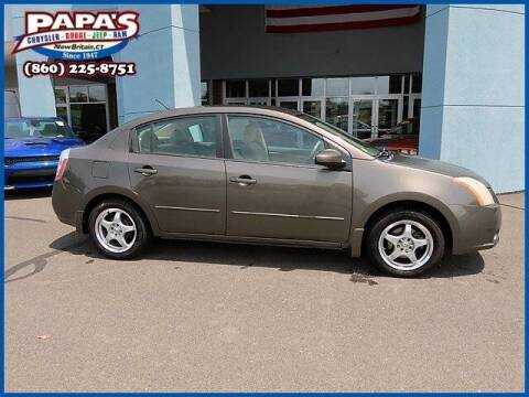 2008 Nissan Sentra for sale at Papas Chrysler Dodge Jeep Ram in New Britain CT