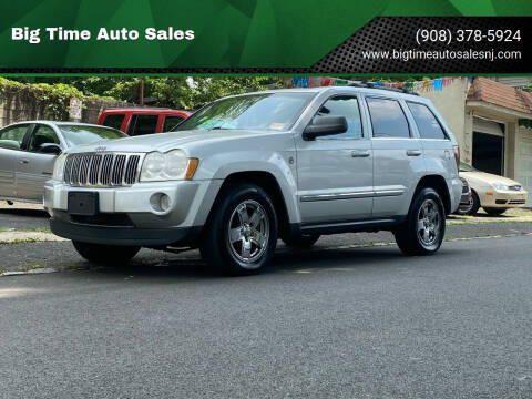 2005 Jeep Grand Cherokee for sale at Big Time Auto Sales in Vauxhall NJ