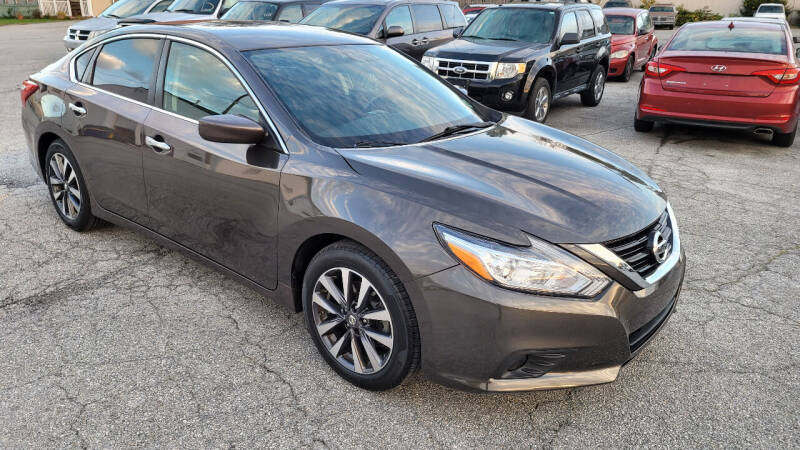 2017 Nissan Altima for sale at WEELZ in New Castle DE