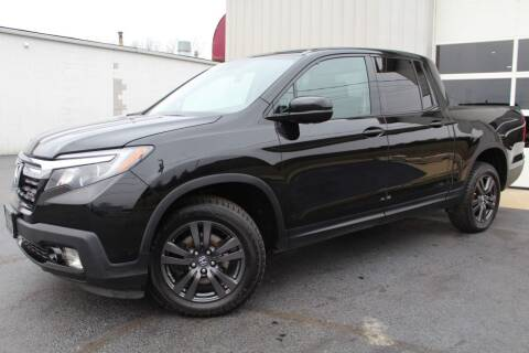 2017 Honda Ridgeline for sale at Platinum Motors LLC in Reynoldsburg OH