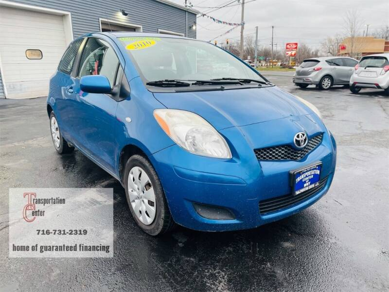 2010 Toyota Yaris for sale at Transportation Center Of Western New York in Niagara Falls NY