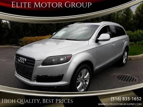 2009 Audi Q7 for sale at Elite Motor Group in Farmingdale NY