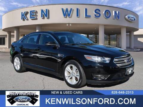 2016 Ford Taurus for sale at Ken Wilson Ford in Canton NC