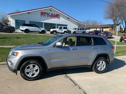 2014 Jeep Grand Cherokee for sale at Efkamp Auto Sales LLC in Des Moines IA