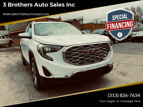 2020 GMC Terrain for sale at 3 Brothers Auto Sales Inc in Detroit MI