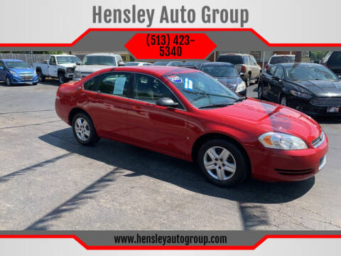 2007 Chevrolet Impala for sale at Hensley Auto Group in Middletown OH