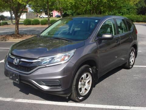 2015 Honda CR-V for sale at Uniworld Auto Sales LLC. in Greensboro NC