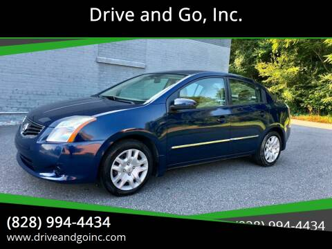 2012 Nissan Sentra for sale at Drive and Go, Inc. in Hickory NC