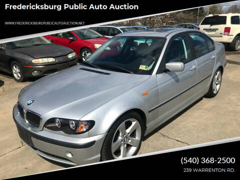 2005 BMW 3 Series for sale at FPAA in Fredericksburg VA