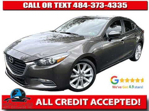2017 Mazda MAZDA3 for sale at World Class Auto Exchange in Lansdowne PA
