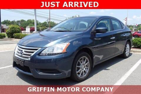 2015 Nissan Sentra for sale at Griffin Buick GMC in Monroe NC