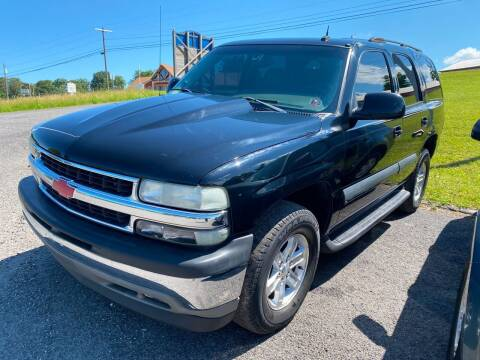 2003 Chevrolet Tahoe for sale at Ball Pre-owned Auto in Terra Alta WV