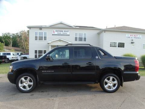 2013 Chevrolet Avalanche for sale at SOUTHERN SELECT AUTO SALES in Medina OH