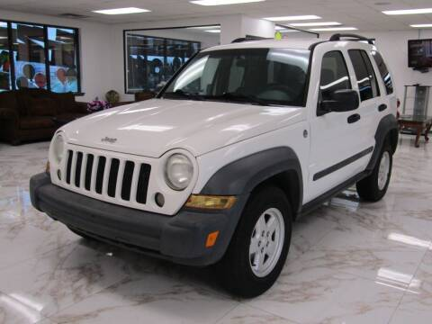 2007 Jeep Liberty for sale at Dealer One Auto Credit in Oklahoma City OK