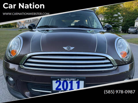 2011 MINI Cooper for sale at Car Nation in Webster NY