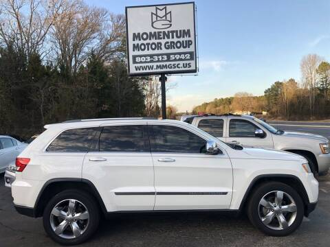 2012 Jeep Grand Cherokee for sale at Momentum Motor Group in Lancaster SC