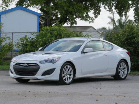 2013 Hyundai Genesis Coupe for sale at DK Auto Sales in Hollywood FL