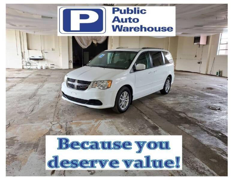 2016 Dodge Grand Caravan for sale at Public Auto Warehouse in Pekin IL