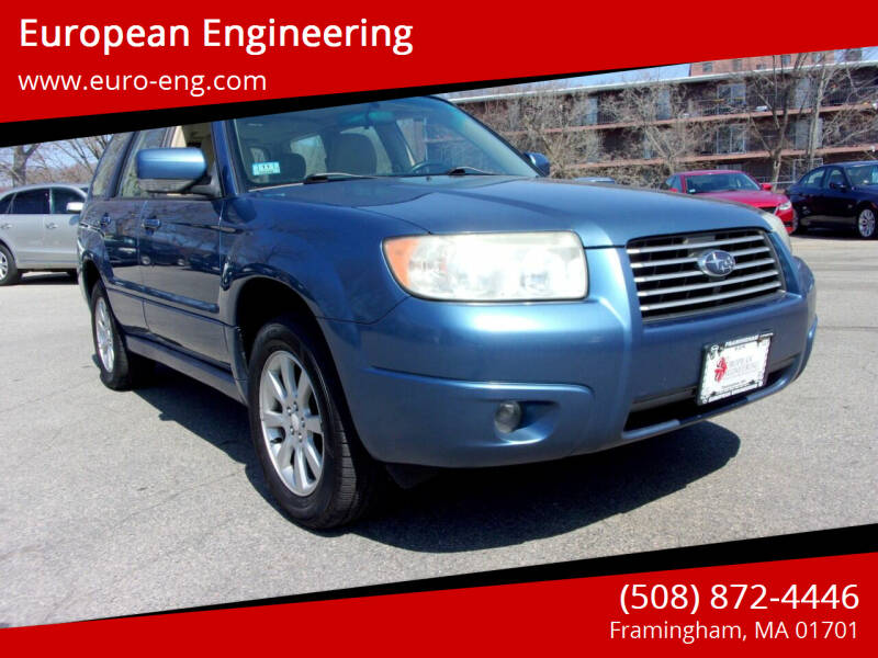 2008 Subaru Forester for sale at European Engineering in Framingham MA