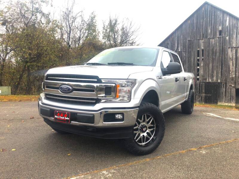 2018 Ford F-150 for sale at A & S Auto and Truck Sales in Platte City MO
